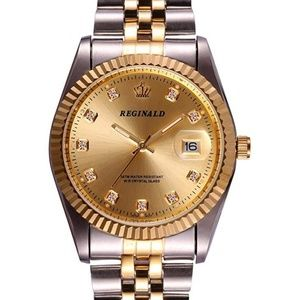Other - Oyster Gold Luxury Watch Silver Presidential Slim